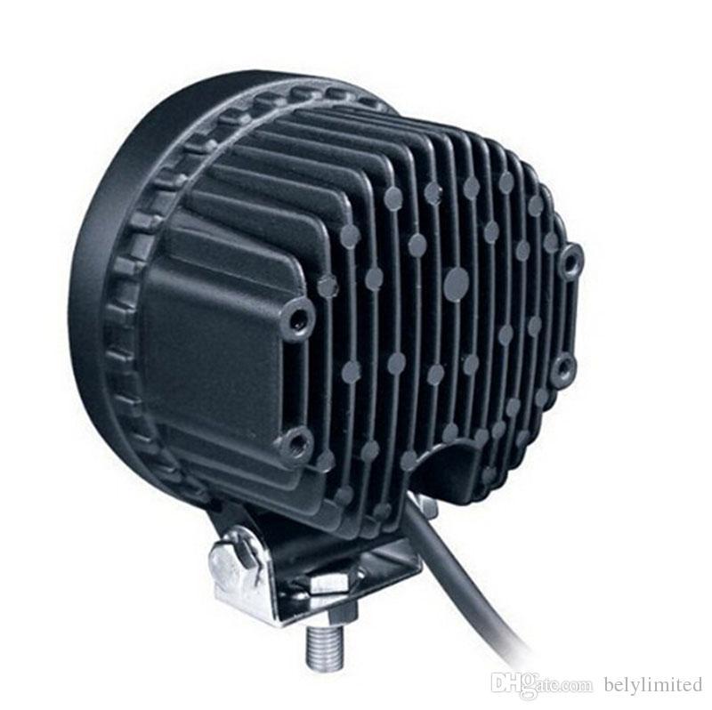Los accesorios del coche redondearon la luz del trabajo 42w para el camión, buena luz impermeable de la impulsión del precio de fábrica de las piezas de automóvil 42w llevó el proyector 4x4