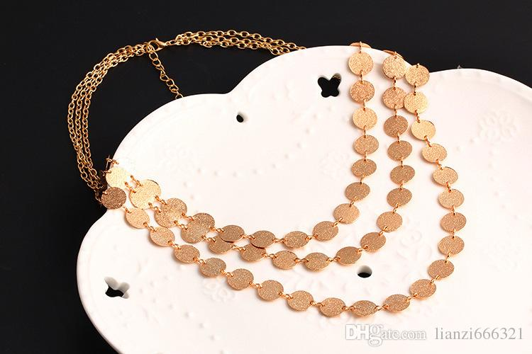 Hot Selling Choker Necklace Latest Design for Women Top Fashion Necklace High Quality with HJ098