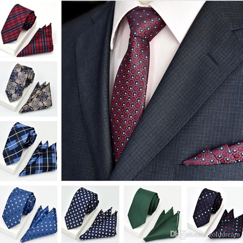 2019 New Fashion 19 Styles Gravata Wedding Party Jacquard Men Tie