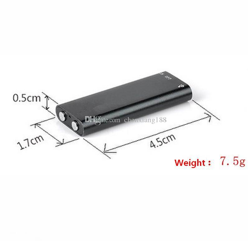 En gros-3 en 1 stéréo lecteur de musique MP3 8G Mini enregistreur vocal numérique Dictaphone 16GB de stockage de mémoire USB lecteur de disque flash