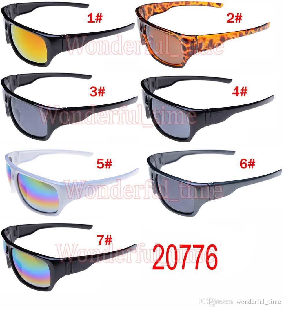 Новый мужчины спортивные очки Мода солнцезащитные очки женщины очки Велоспорт спорт открытый солнцезащитные очки ослепительно цвета 7 цветов бесплатная доставка