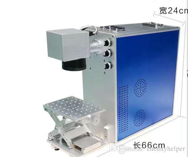 20w taşınabilir metal fiber lazer markalama makinesi dizüstü