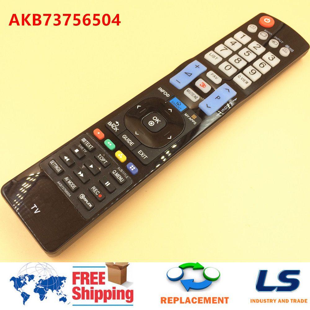 Wholesale-3D LED LCD SMART TV REMOTE CONTROL FOR LG AKB73756504 AKB73756502  32 42 47 50 55 84 LA y LN LA79 LA86 LA96 LA97 LA98 series