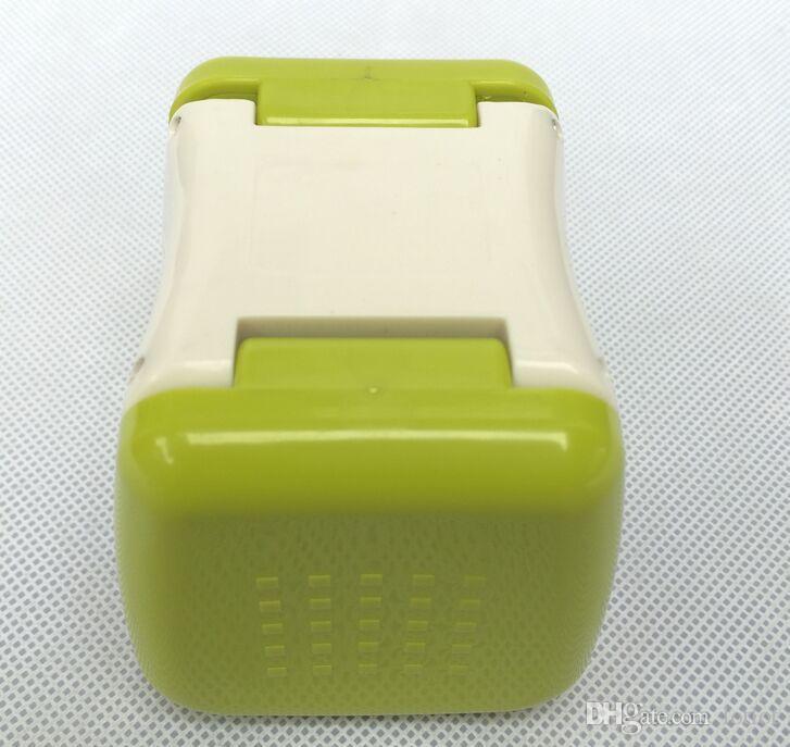 마늘 큐브 다기능 플라스틱 마늘 프레스 크러셔 슬라이서 강판 다이 싱 슬라이싱 및 보관 주방 야채 도구