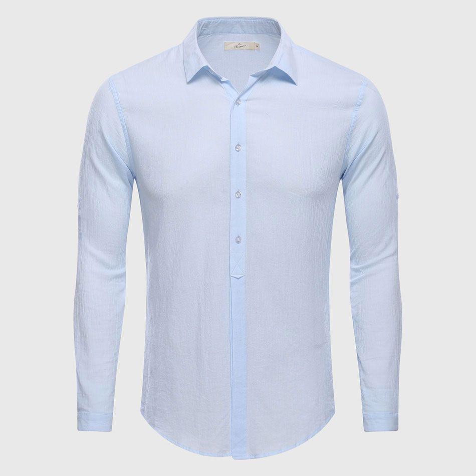 b8ffa4c6 Wholesale- Cotton Linen Casual Shirt Hawaii Aloha Solid Summer Slim Fit Men  Shirt Shirt Shirt Shirt Hanger Shirt Pin Online with $22.12/Piece on  Cutee's ...