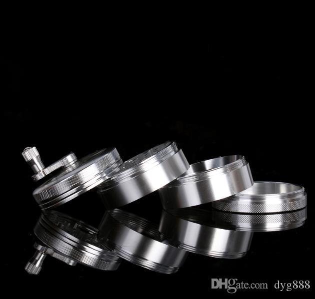 Accessori semi-automatici della macchina la frantumazione del fumo della mescolanza della mano della macchina la frantumazione del metallo della lega di alluminio 4