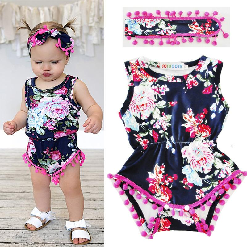 48f3118cdb28 2019 2017 Baby Clothes Kids Boutique Clothing Baby Girl Tassel ...