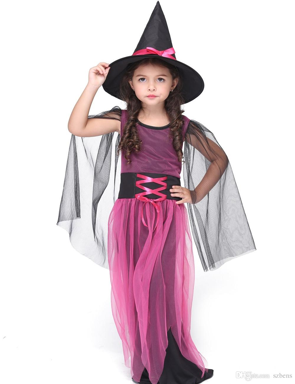 Girl Witch Costume Halloween Costume For Kids Role Play Party ...
