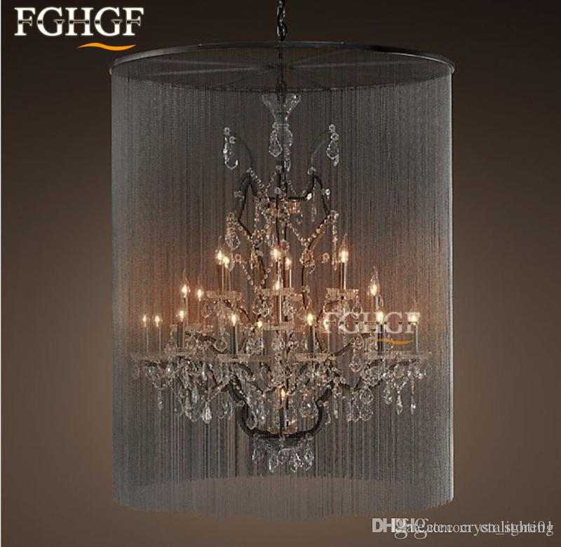 Rustic Crystal Chandeliers 2017 modern vintage crystal chandelier lighting rustic candle