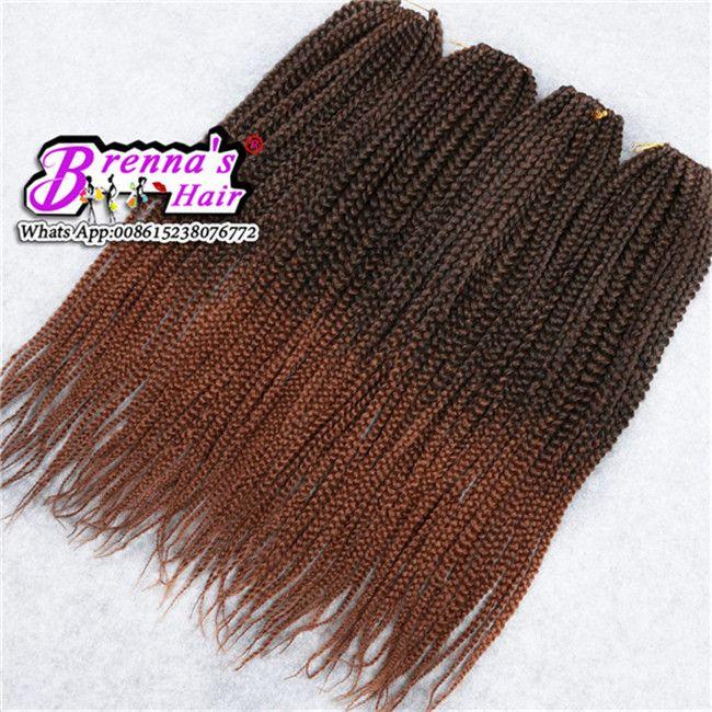 Hot sale 3x bod braids small seneglese Twist Crochet Braids Hair 22'' 120g/pack Crochet Braid Hair Senegalese Twists Braiding Hair Extension