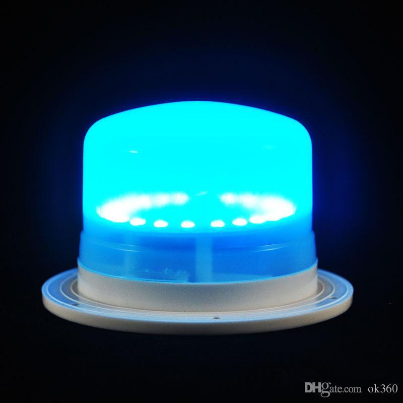 새로운 LED 가구 조명 배터리 충전식 Led 전구 RGB 원격 제어 방수 IP68 수영장 조명