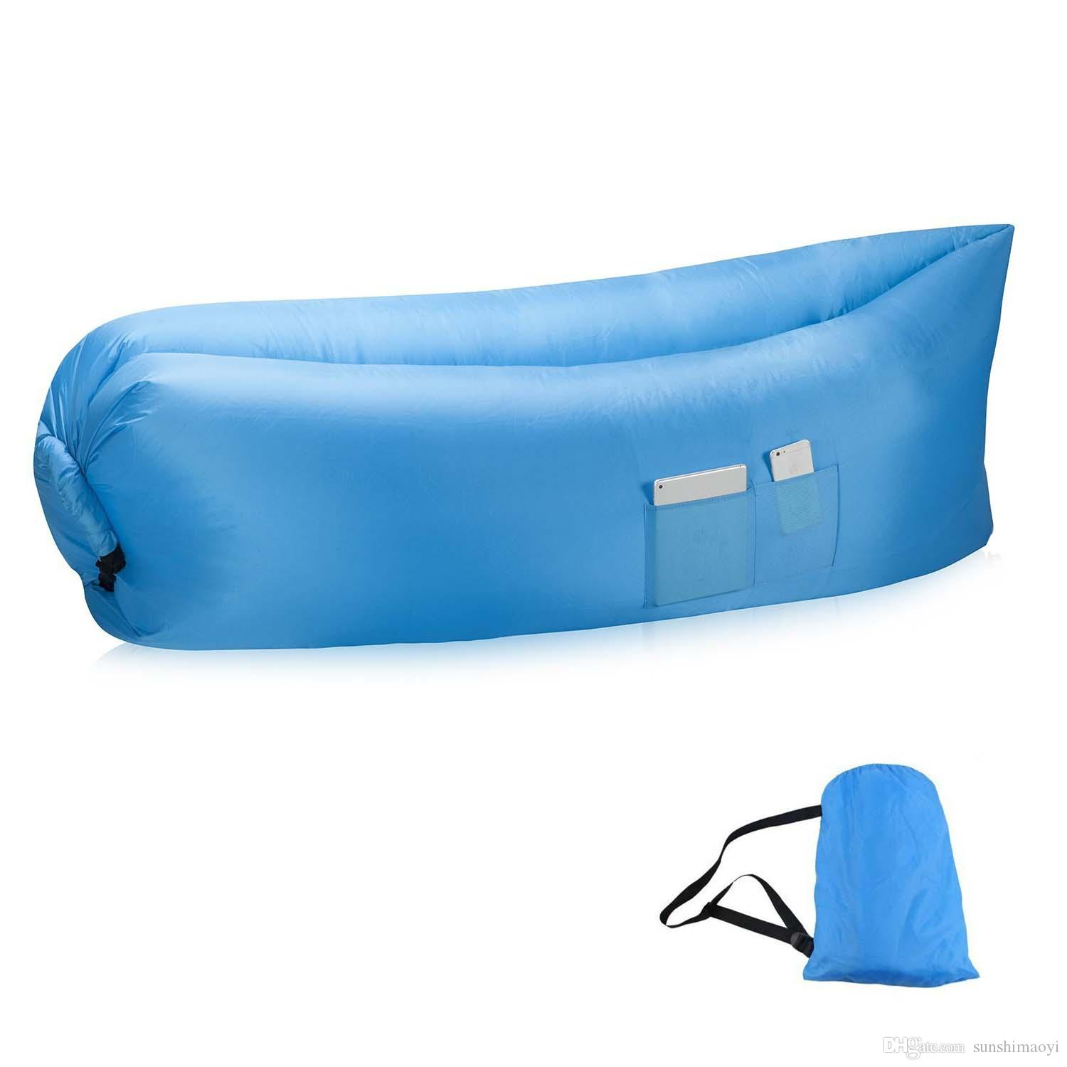New Most Popular Lay Bag Air Bed Sofa Inflatable Air Bags Sleeping