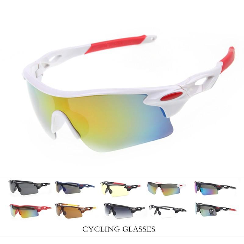 2bdccf8180 2019 Wholesale 2017 UV400 Cycling Eyewear Outdoor Sports MTB Bike Goggles  Windproof Glasses Motorcycle Gafas Ciclismo Sunglasses From Shinny33