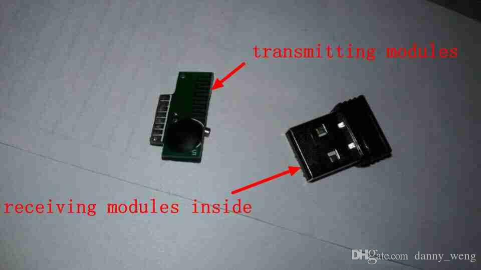 wireless mouse receiver and transmitter RF modules with IC KA8/V108 Provide motherboard design