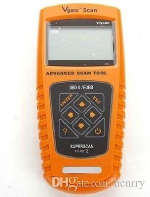 original Vgate VS600 newest Scan tool super scanner tool VS 600 Diagnose Code Reader Scanner obd2 obdii EOBD post