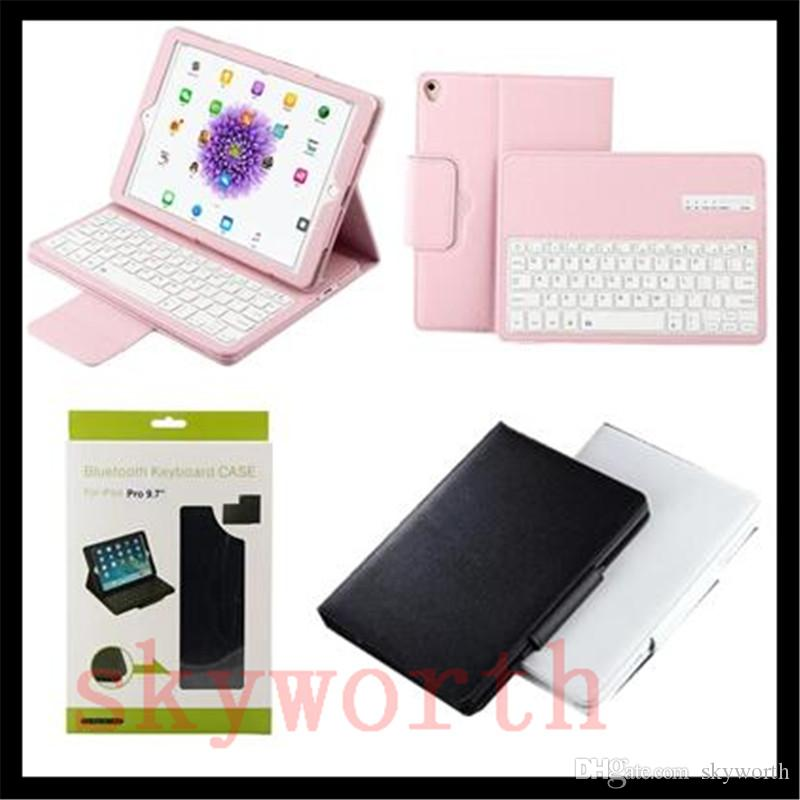 reputable site 765b6 57a27 Removable ABS Wireless Bluetooth Keyboard For Samsung Galaxy Tab S3 T820  T580 T560 T550 T350 T710 T810 ipad Pro 10.5 leather case