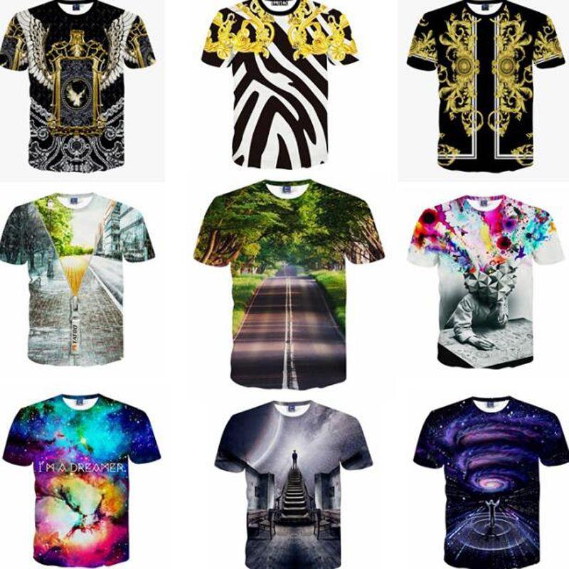 40926ed1e6cc Men S Funny T Shirt Print Winter Zipper 3 D Short Sleeve Hip Hop Casual T  Shirt Summer Tops Street Wear T Shart Fun Shirts From Bluedaily