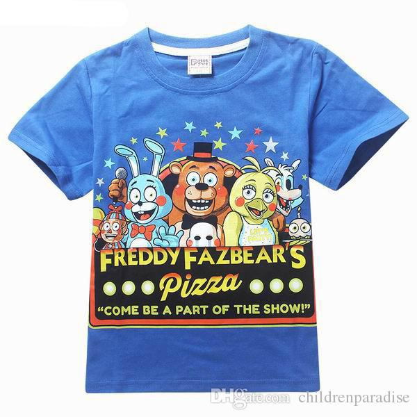 SAILEROAD 5 To 13Years Five Nights At Freddys FNaF Clothing Children Kids Boys Girl Long Sleeve T Shirts Outerwear Child Shirts