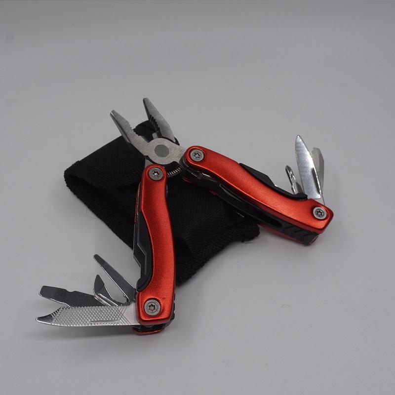 Малый размер тактические стальные плоскогубцы многоцелевые комбинированные ножи EDC открытый инструменты портативный многофункциональный складной плоскогубцы Бесплатная доставка