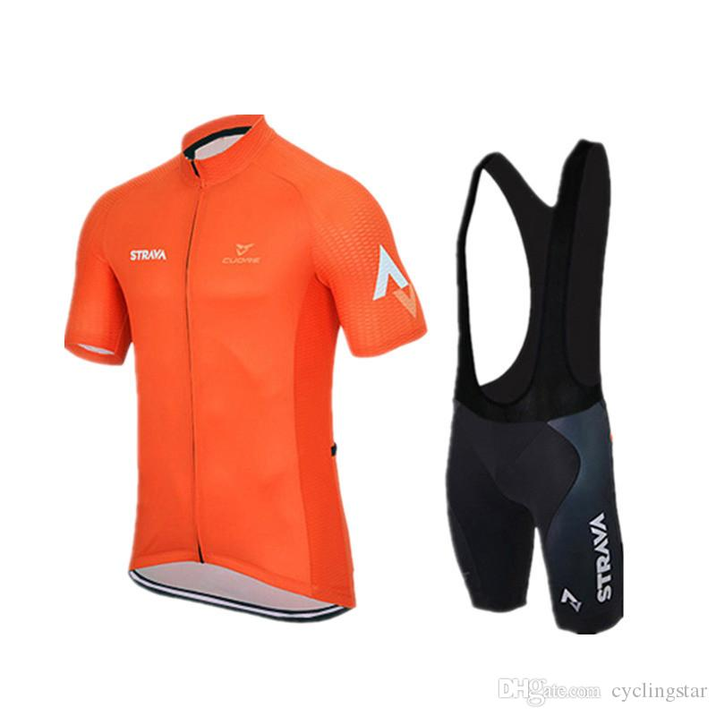 Ropa Ciclismo Strava Team Summer Cycling Jersey mtb maillot Breathable Bike Clothing Quick-Dry short sleeve Bicycle Sportswear A0401