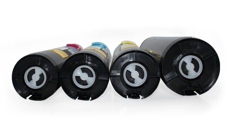 Бесплатная доставка совместимый черный / голубой / желтый / пурпурный тонер-картридж для цветного принтера Xerox Phaser 7760DN 7760DX 7760GX 4 шт. / Лот