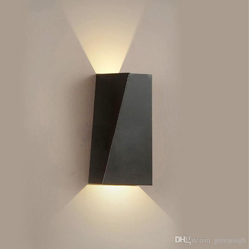 on sale 63e54 c29ff 2019 6W Indoor LED Wall Sconce Light Fixture Up Down Wall Lamp For Bedroom  Living Room Hallway Staircase From Greenough, $17.35 | DHgate.Com