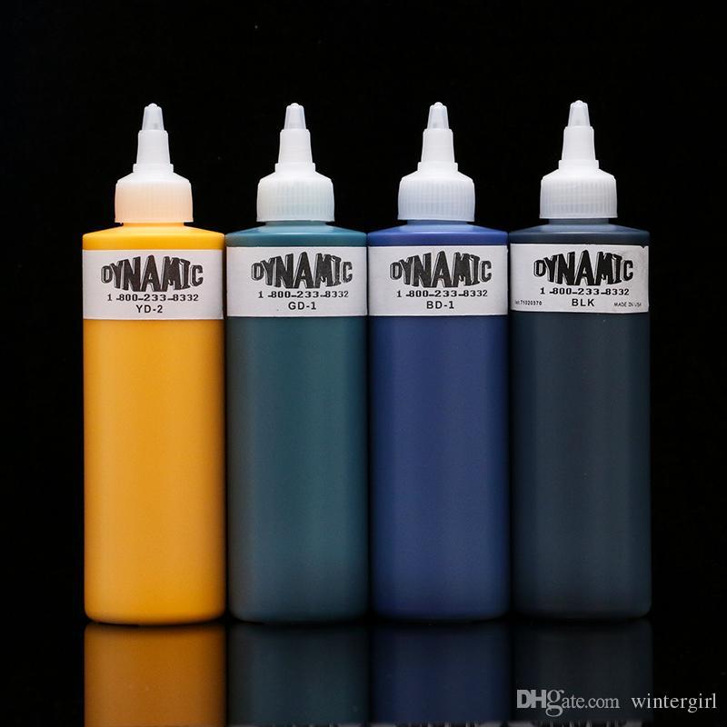 Venta caliente Tinta para tatuaje Dinámica es Tatuaje Pigmento / lote 8 oz Tinta para kits de tatuaje INK206