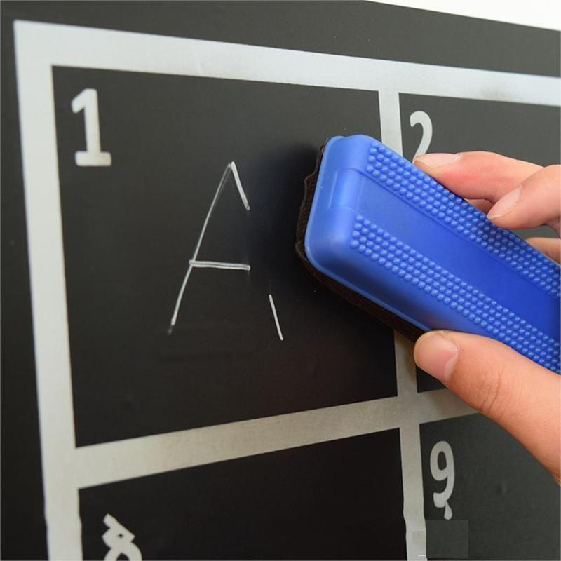 White liquid chalk pen nursery wall sticker without blackboard for kids room decorative removable vinyl decor