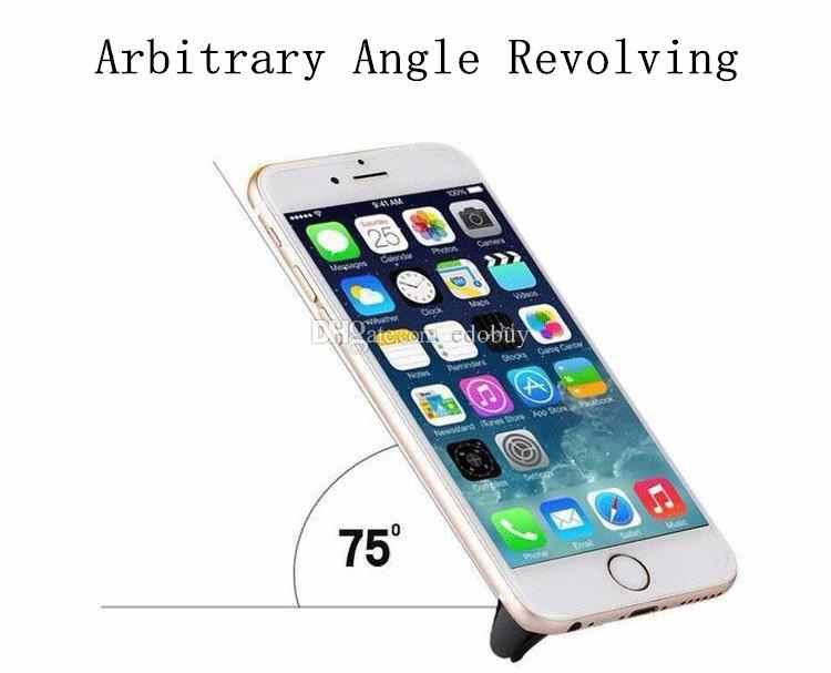 Car Mount Air Vent Magnetic Universal Car Mount Phone Holder for iPhone 6/6s One Step Mounting Reinforced Magnet wholesale