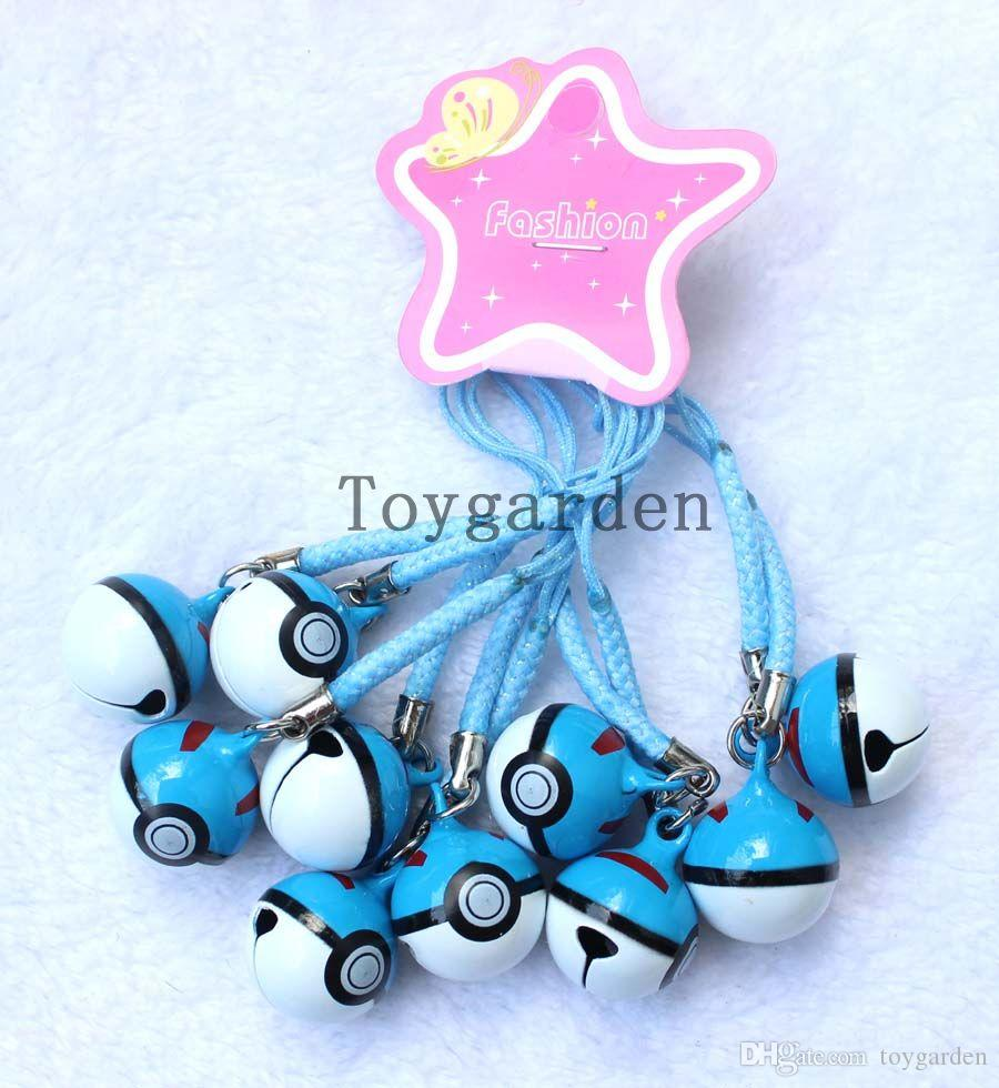Popular Cartoon Cell Phone Strap JINGLE BELLS Dangle Charms Party Gifts H41