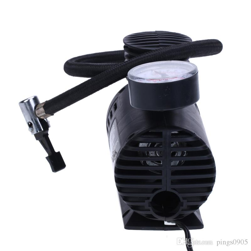 12V300 PSI Coche Auto Eléctrico Inflable Portátil Bomba Inflable Compresor de Aire Neumático para Coche Bicicleta Neumáticos Deportes Bolas Airbeds