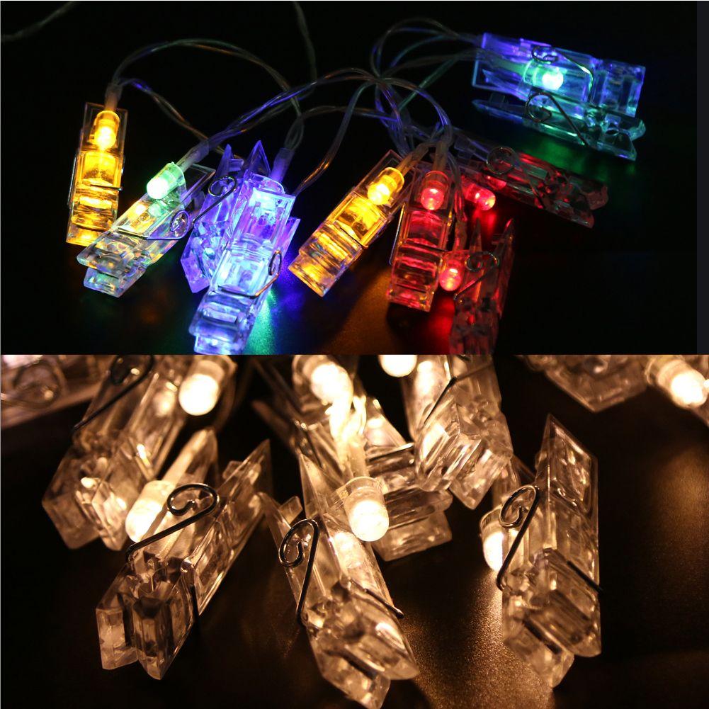 photo christmas sm battery light lighting lights box party led string card itm cf wedding clip x