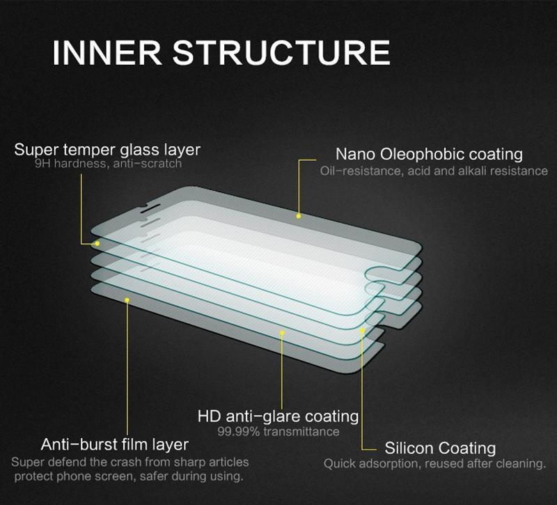 9H anti-choc film en verre trempé pour Sony Xperia Z3 compact protecteur d'écran 2.5D anti-explosion pour Sony Z3 compact /