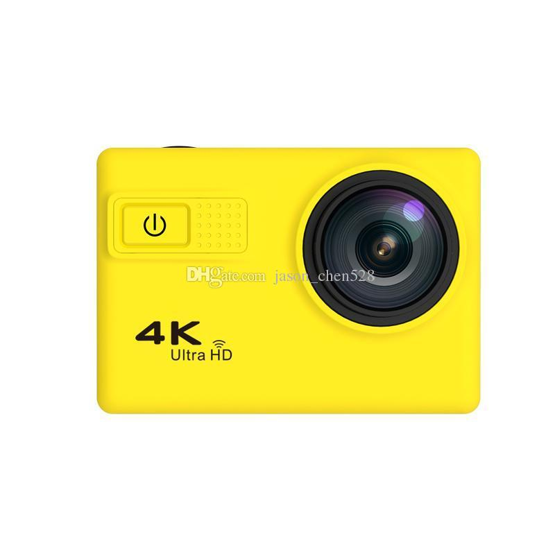 High quality New Brand F68 4K Ultra HD WiFi Sport Action Camera 170 Degree 12MP Diving Mode Night Scene Novatek 96660 2.0 inch Screen