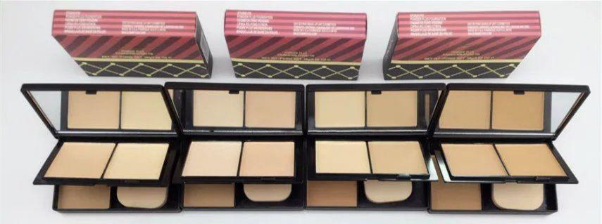 ¡Promoción navideña! Venta caliente NUEVO maquillaje NUTC RACKER SWEET Colección Mate Polvo Facial Doble cubierta DHL Envío + REGALO