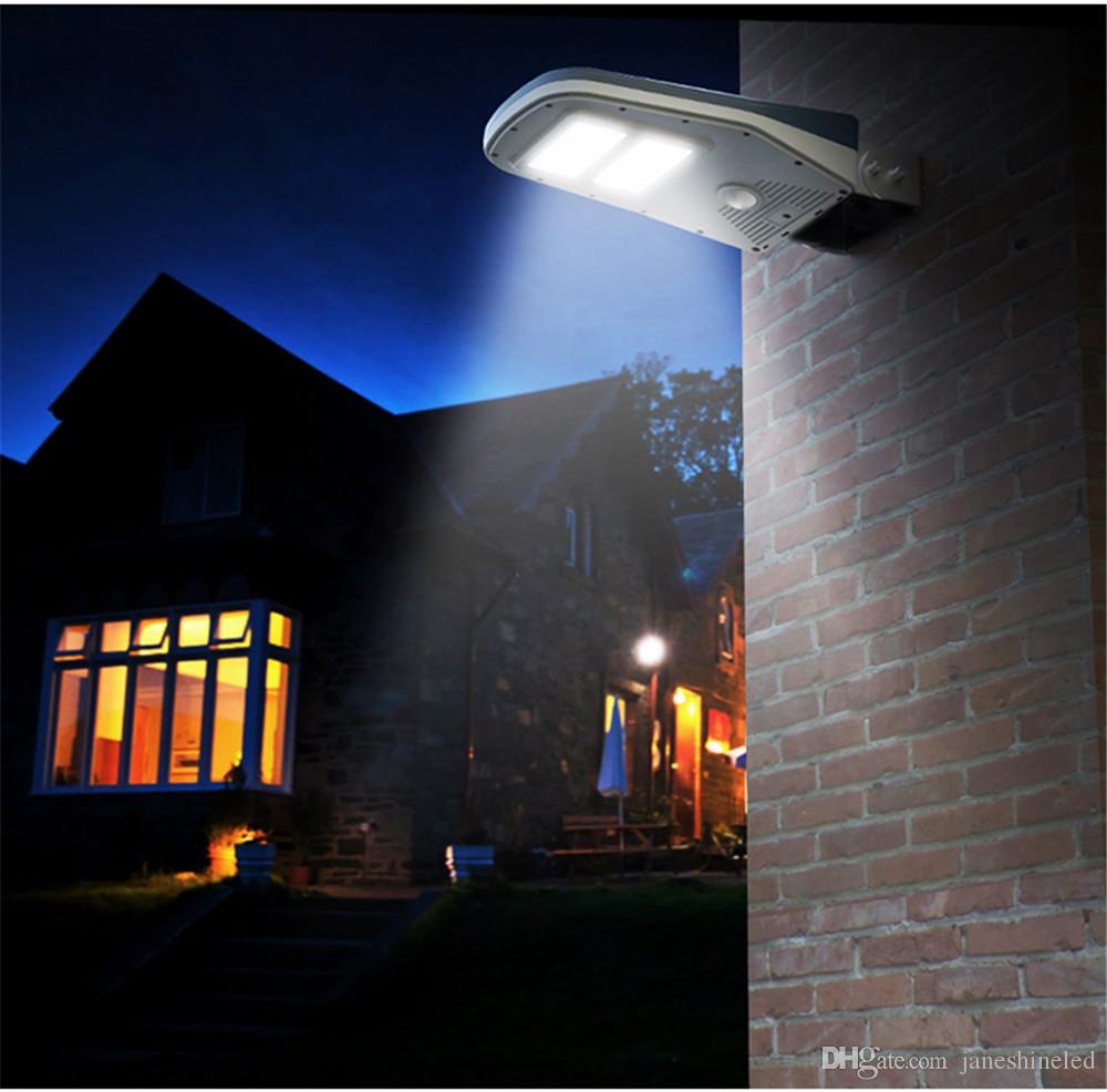 New 30 led solar light ip65 waterproof wide angle security motion new 30 led solar light ip65 waterproof wide angle security motion sensor street light with remote control activated for patio garden led solar light motion mozeypictures Choice Image