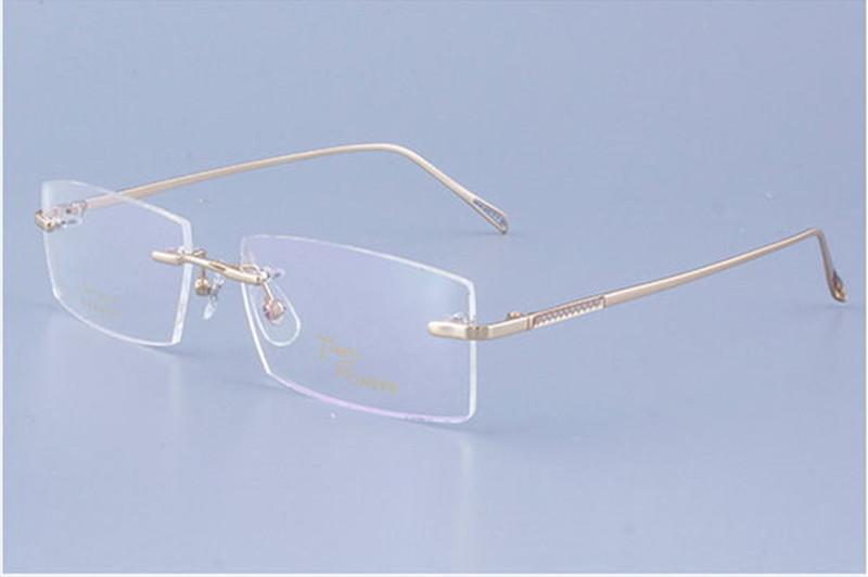 c06d6e6bb69 New Arrival Concise Style Male Glasses Frame Quality Titanium Alloy ...