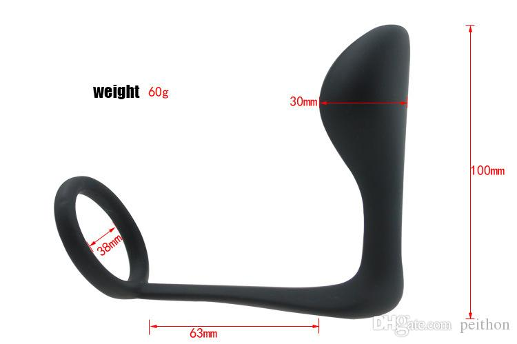 Fantasy Silicone Male Prostate Anal Hook, Butt Plug Anal Cock Ring Gay Sex Toys Dildo Anal, Erotic Adult Sex Toys Anal Plug.