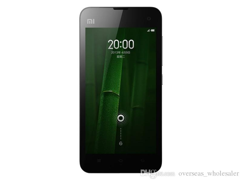 Original Xiaomi 2A Smart Phone 1GB RAM 16GB ROM 4.5inch 8.0MP 2030mAh Dual Core Snapdragon MSM8260A Pro Android Phone Silicone Case as Gift