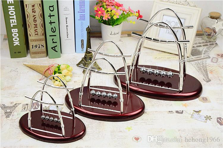 Newtons Cradle Steel Balance Ball Home Furnishing Decoration Sail Swing The Balls Arts And Crafts Hot Sale 12 5jl J
