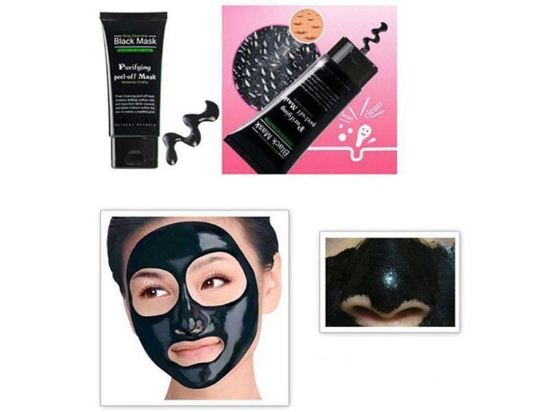Shills Peel-off face Masks Deep Cleansing Black MASK 50ML Blackhead Facial Mask Pore Cleaner Dyy daub mask purifying Matte
