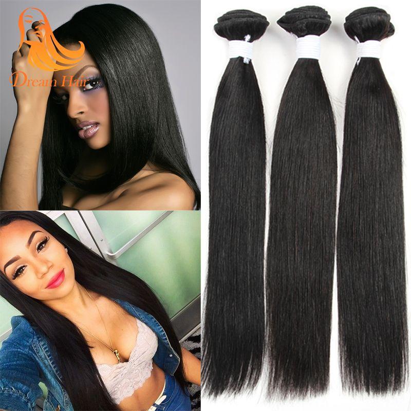 Wholesale straight human hair extensions malaysian hair bundles see larger image pmusecretfo Gallery