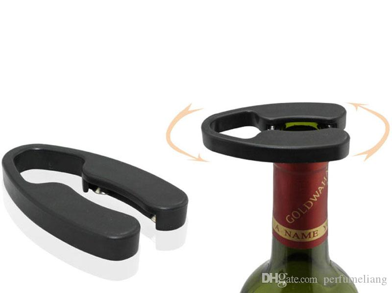 Practical Air Pressure Pin Type Bottle Pumps Red Wine Opener Foil Cutter Pourer Stopper Barware Tool Gift Box ZA3823