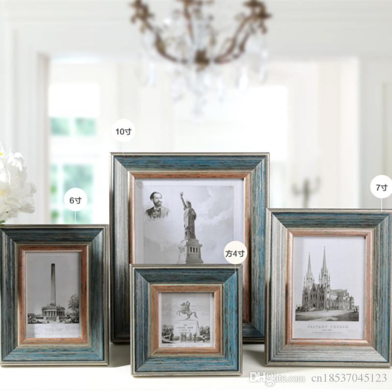2018 4/6/7/10 Inch American Classic Photo Frame Vintage Expression ...