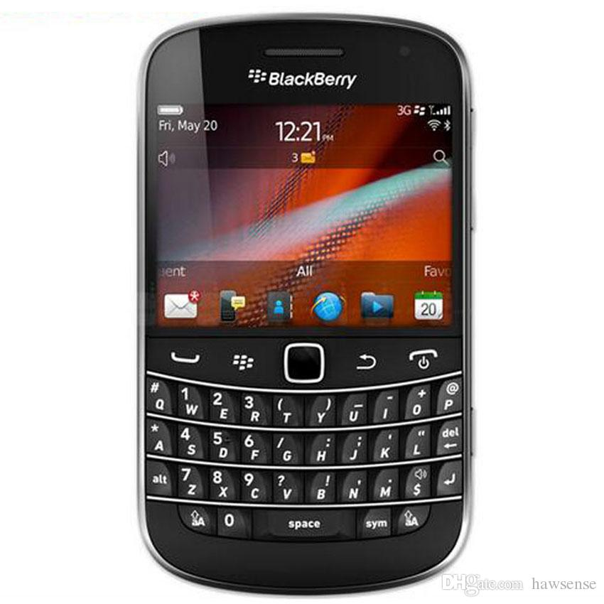 Refurbished Original Blackberry Bold Touch 9930 3G Mobile Phone 2.8 inch 8GB ROM 5MP Camera QWERTY Keyboard WIFI GPS Smart Phone DHL