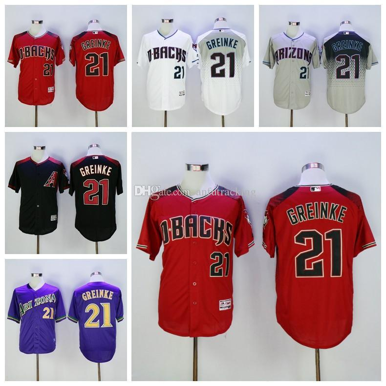 ... coupon for cool base majestic mens mlb jersey 2017 cooperstown 21 zack  greinke jersey cheap arizona d9524176e