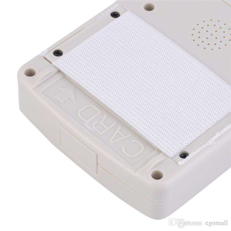 9 نسخة التردد المشفرة NFC البطاقة الذكية RFID ناسخة معرف / IC قارئ القارئ مع كابل USB الأبيض