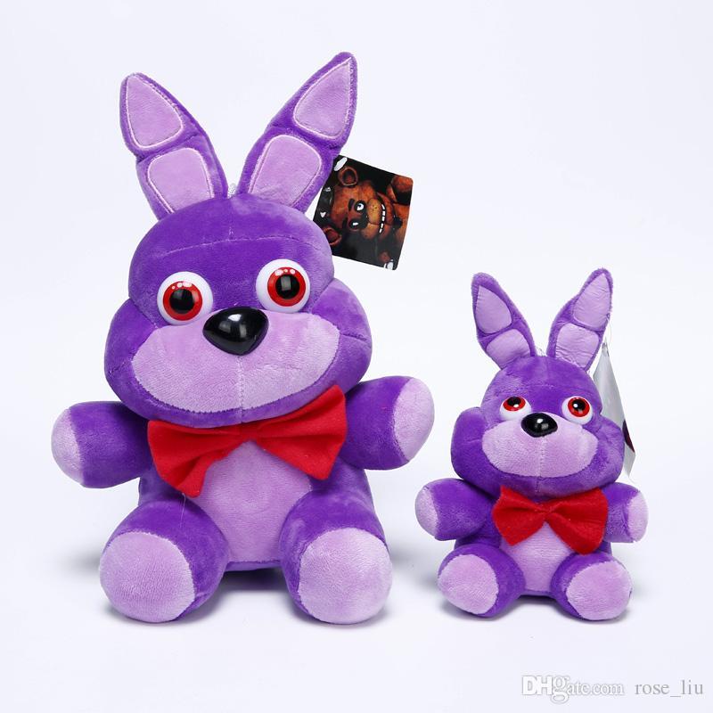 15-18 cm FNaF freddys At Peluş kolye Beş Nights freddys At Ayı Fox Tavşan Doldurulmuş Hayvanlar şekil Peluş bebekler oyuncaklar