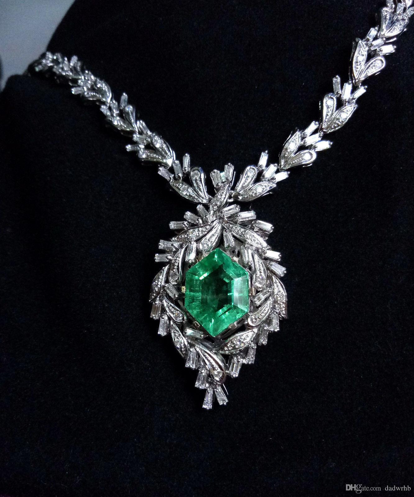 Compre antiguo natural ruso emerald diamond collar 112ct certified compre antiguo natural ruso emerald diamond collar 112ct certified a 5528 del dadwrhb dhgate aloadofball Images