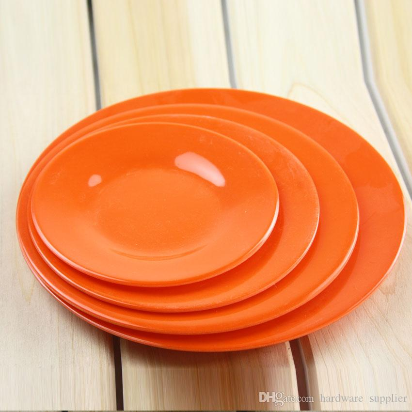 see larger image - Square Dinner Plates